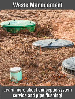 Learn more about our septic system service and pipe flushing!